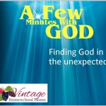 Finding God In The Little Things