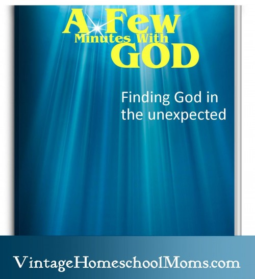 a few minutes with God