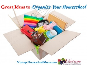 Great Ideas to Organize Homeschool