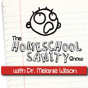 Homeschool Sanity Show Button 300