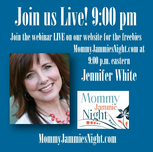 Jennifer white mommy jammies night