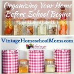 Organize Your Home and Homeschool Year
