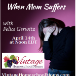 Vintage HS Moms – When Mom Suffers