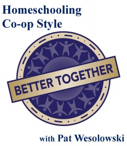 homeschooling co-op style button
