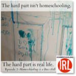HomeschoolingIRL Episode 2: Homeschooling is a Buzzkill