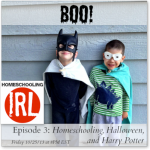 HomeschoolingIRL Episode 3: Homeschooling, Halloween and Harry Potter