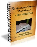 Homeschool Mother's Prayer Journal 125