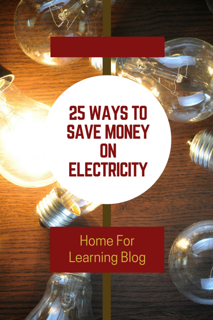 tips to save money electricity