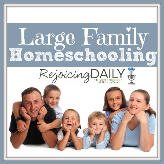 Large Family Homeschooling Podcast