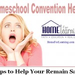 Homeschool Convention Help