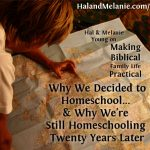 MBFLP – Why We Started Homeschooling — And Why We Continued