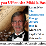 Foreign Affairs, ISIS and the Constitution