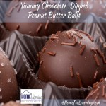 Yummy Dipped Chocolate Peanut Butter Balls