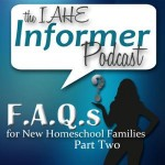 IAHE F.A.Q.s for New Homeschool Families – Part Two