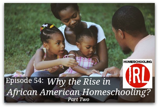 Free homeschool podcast discussing the rise in African American Homeschooling in America.