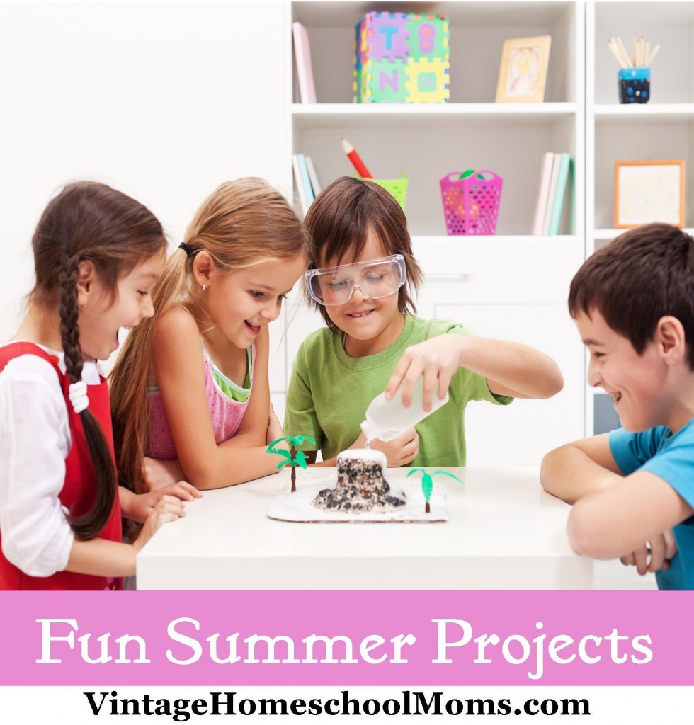 fun summer projects, learning, fun learning