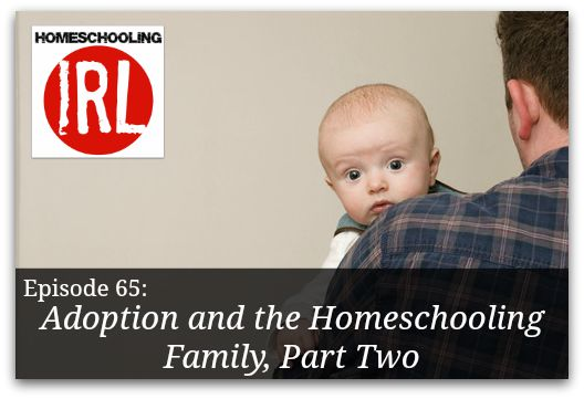 Free homeschool podcast about adoption.