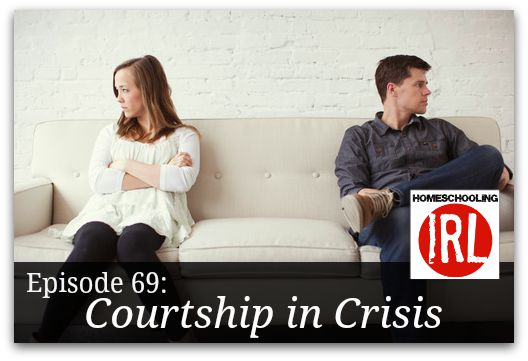 Free homeschooling podcast discussing courtship and dating.