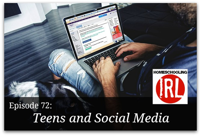 Free homeschool podcast about teens and social media
