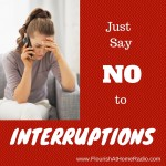 Just Say No to Interruptions, part 1 – FAH episode 21