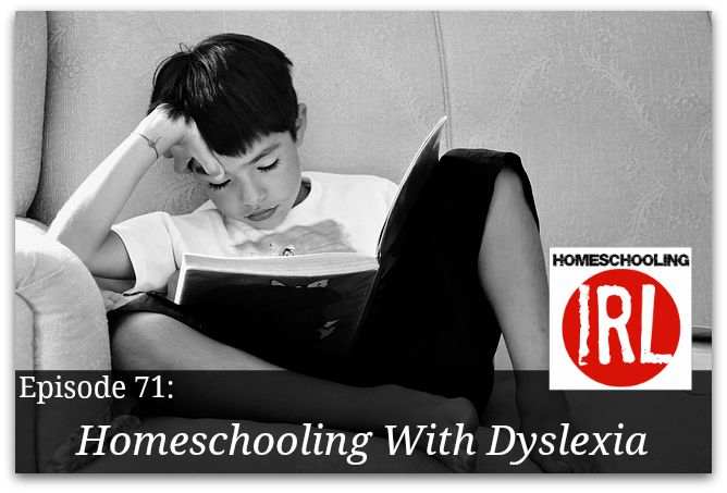 Free Homeschool podcast about children with dyslexia