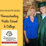 Homeschooling, Public School & College: An Interview With My Son