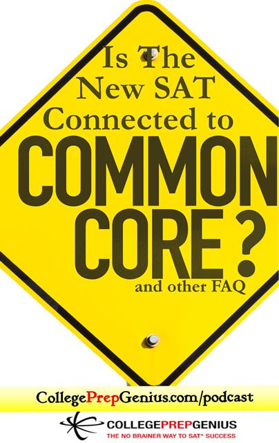 is the new SAT connected to common core