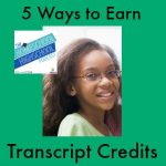 HSHSP Ep 32: 5 Ways to Earn Transcript Credits