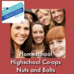 Homeschool Highschool Co-ops Nuts and Bolts of Staring One. Plan now, save confusion later. Join us for the details you need to consider when starting a homeschool highschool co-op.