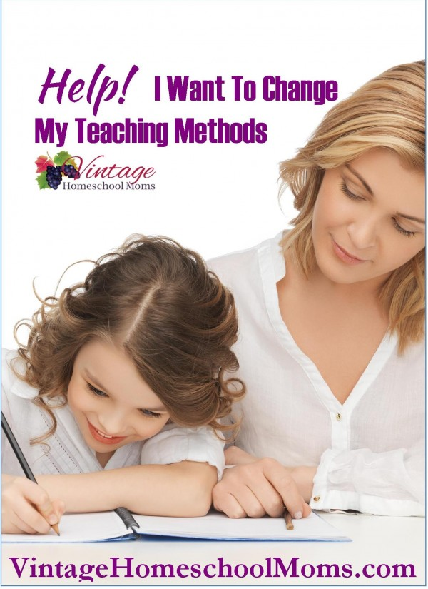 help I want to change my homeschool teaching method