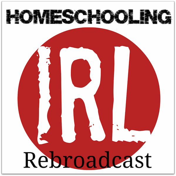 Free homeschool podcast about the book Christ in the Chaos with author Kimm Crandall