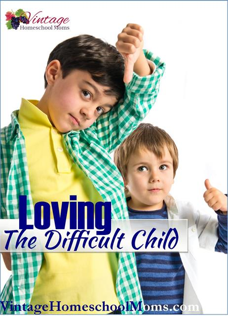 loving the difficult child