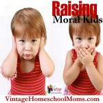 Raising Moral Kids In An Immoral Society
