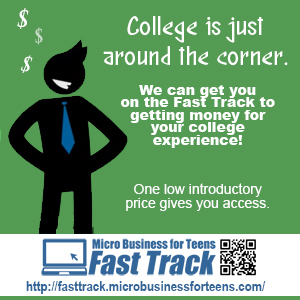 fast track micro business for teens