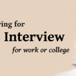 Interviewing for Job and College – MBFLP 130