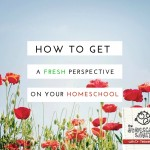 How to Gain a Fresh Perspective on Your Homeschooling