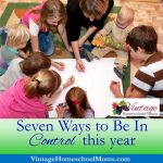 7 Ways To Be In Control This Year