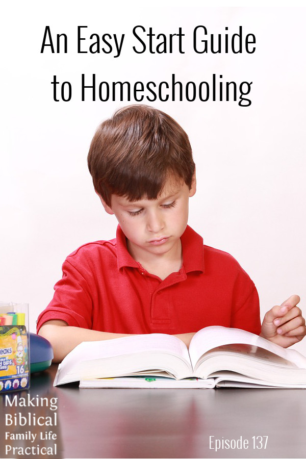 MBFLP - Easy Start to Homeschooling