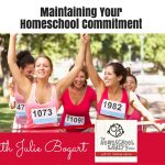 Keeping Your Homeschool Commitment with Julie Bogart