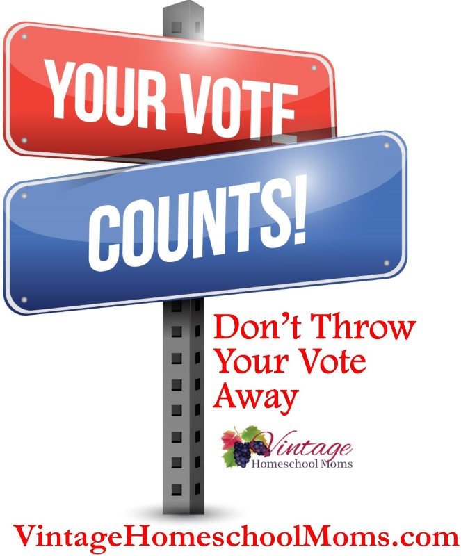 don't throw your vote away