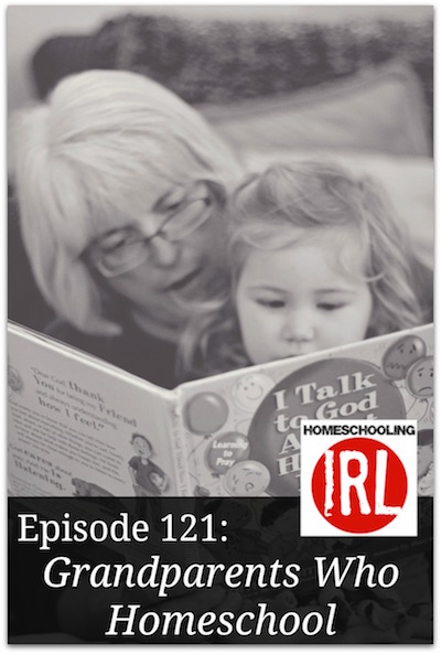 Free homeschool podcast about grandparents who homeschool.