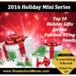 Top 10 Gift Ideas for Full Time RVing Families