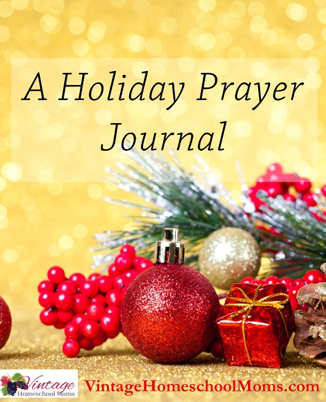 holiday prayer journal