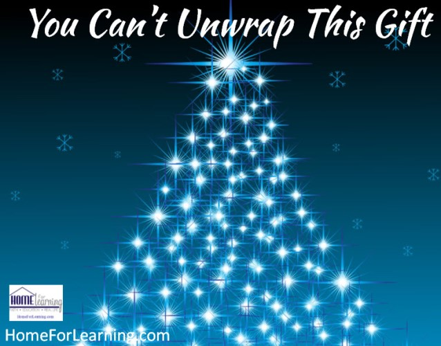 you can not unrwap this gift