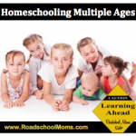 Roadschooling Multiple Ages Simultaneously