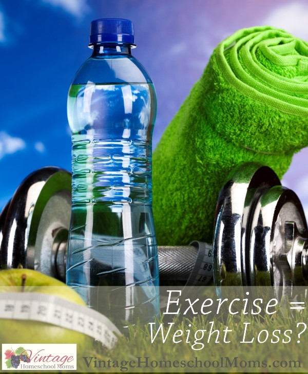 exercise equals weight loss