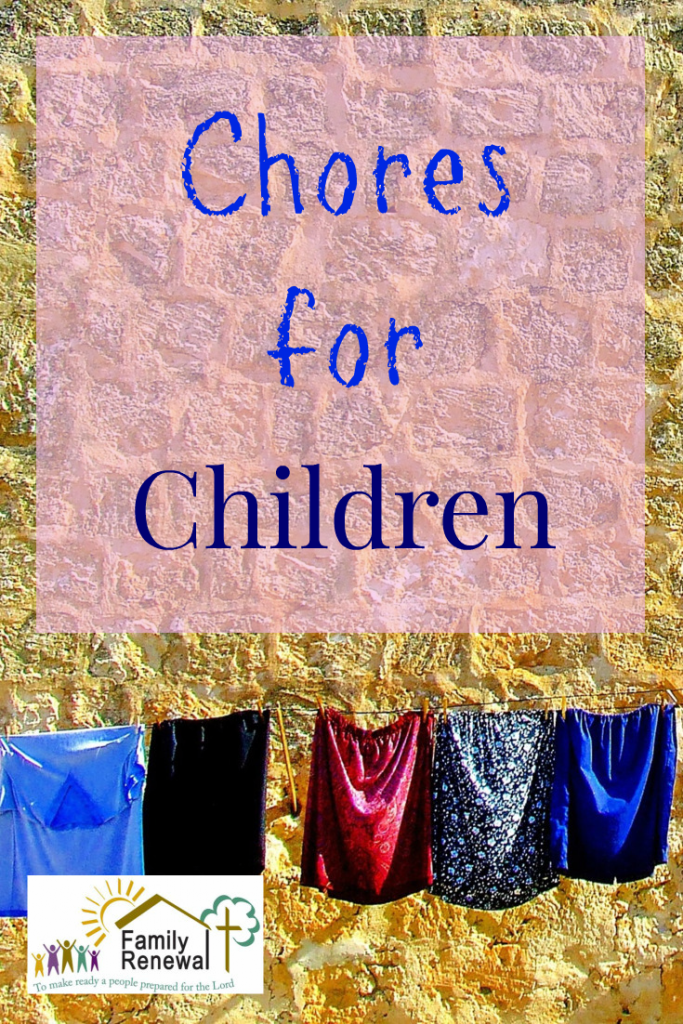 Chores for children