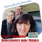 Even Second Generation Homeschoolers Make Mistakes