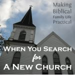 When You Need To Find A New Church – MBFLP 164