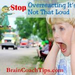 Stop Overreacting! It's Not That Loud!